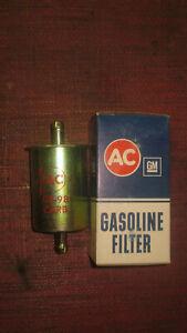 NOS 1966 AC DELCO GF98 GM 98 AC FUEL FILTER LS3 CHEVELLE PONTIAC GTO GENUINE #2
