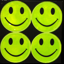 1 Sheets,Reflective sticker Smile face, for helmet motorcycle car, kids bags