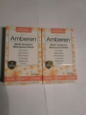 Amberen Menopause releif 2x60=120 capsules per.order exp.06/21` Free shipping