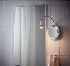 IKEA LED BLAVIK Wandleuchte mit Spiegel; weiß batteriebetrieben NEU DHL Versand