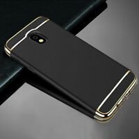 New Electroplate Ultra Thin 3 in 1 Slim Shockproof Hybrid Hard Case For Samsung