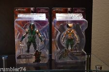 DC Direct Brightest Day Series 1 Green Arrow & Hawkgirl Action Figures