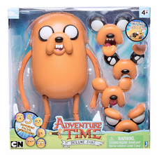 """Adventure Time 10"""" Deluxe Posable Jake with 5 Different Faces SENT FROM SYDNEY"""