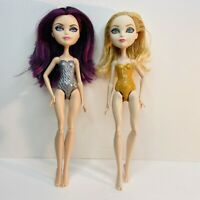 Ever After High Semi-Nude Dolls Apple White & Raven Queen