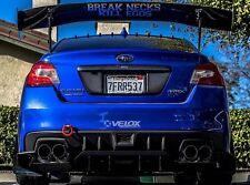 2015+ Subaru WRX & STI - Aggressive Rear Diffuser - Bolt On - Velox Motorsports