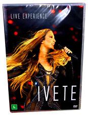 IVETE SANGALO 2 DVDS = Live Experience new 2019 double DVD Ao Vivo Brazil NEW!