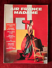 Air France Madame Magazine ~ #2 1987~ Haute Couture Alterio Andy Warhol