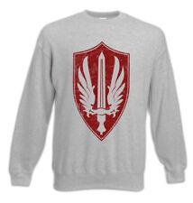 Silver Spar Squadron Patch Sweatshirt Pullover Battlestar Fun Galactica Ship