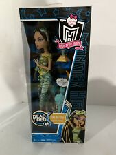 Mattel Monster High  Dead Tired Cleo de Nile Doll ( Daughter of The Mummy ) NIB