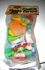Vin NOS Jak Pak Plastic Cookie Cutups Educational Play Cutout Cookies Clay Sand