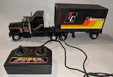 GB Toy Remote Control Semi Tractor Trans Con Vintage Working