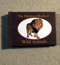 Dollshouse Miniature Book - Dateman Book of Wild Animals