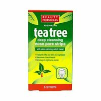 Australian Tea Tree Deep Cleansing Nose Pore Strips,Blackhead Removing-6 strips