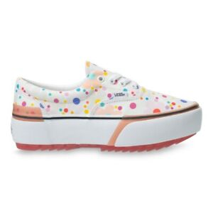 Vans UV INK Floral Era Stacked Sneakers Shoes VN0A4BTO4GG1 Sz 4-7