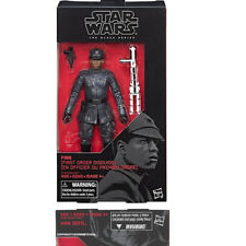 """Hasbro Star Wars The Black Series 6"""" #51 FINN IN FIRST ORDER DISGUISE NEW AU"""
