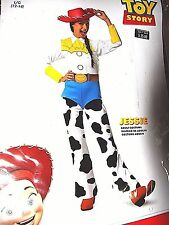 NEW ADULT WOMENS TOY STORY JESSIE COWGIRL HALLOWEEN COSTUME SIZE MEDIUM 8-10 NWT