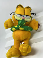 Vintage Plush Garfield with Floater NOS Paws Nanco Stuffed Garfield With Tag