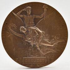 Médaille bronze Exposition universelle Paris 1900 Chaplain Creuzet
