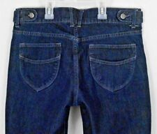 Old Navy Womens Capris Jeans Blue Sz 8 Denim Classic Rise Cropped Stretch Pants