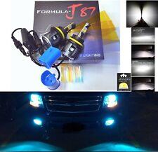 LED Kit C 80W 9007 HB5 8000K Icy Blue Head Light Two Bulbs Dual Beam Upgrade