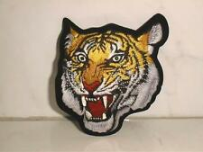 Aufnäher Aufbügler Patch Tiger Nr.24 Gewebeaufnäher 9 x 8 cm