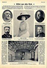 100jähriges Bestehen der Königin Luise- Stiftung in Dahlem Die Aula des S...1911
