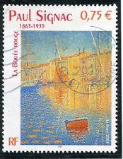 TIMBRE FRANCE OBLITERE N° 3584 TABLEAU PAUL SIGNAC /