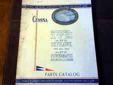 1963-1966 Cessna 172 Parts Manual