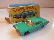 MATCHBOX  31 LINCOLN  CONTINENTAL   (regular wheels)