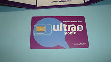 ULTRA MOBILE MICRO SIM CARD NEW UNLOCKED OR T-MOBILE PHONE, UNLOCK IPHONE 4, 4S