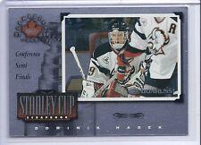 1997-98 DONRUSS CANADIAN ICE DOMINIK HASEK STANLEY CUP SCRAPBOOK SP /1500 #22