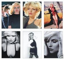 Blondie Debbie Harry Great New 6 POSTCARD Set