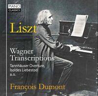 FRANCOIS DUMONT - TRANSCRIPTIONS  CD NEW+ WAGNER/LISZT