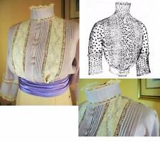 Antique Pattern for Lovely 1912 Edwardian/Titanic Lingerie Blouse ~Szs SM to XL