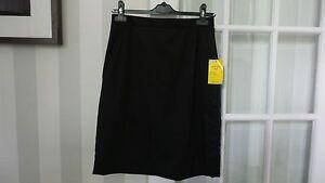 John Lewis Girls 6th Form School Uniform Black Pencil Skirt Brand New 12R