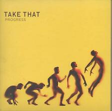 Take That - Progress (2010) with five photos of the boys - Excellent Condition