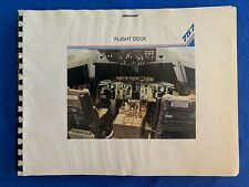 Boeing 757-200 Flight Deck Information Manual - Late 1970's to Early 1980's