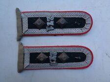 Epaulettes Artillerie W/rock S/Officier / WW2 German Artillery Shoulder boards