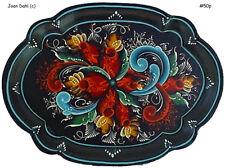 Telemark Rosemaling Tray Pattern Package Blu Stripe FREE SH by Joan Dahl #50p