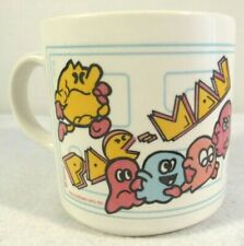 Vtg Pac Man Video Arcade Game 80's Coffee Mug Cup ATARI Midway Made in England
