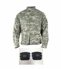 DEFECTS 1 QTY ACU DIGITAL COMBAT UNIFORM JACKET & ELBOW PADS x2 SMALL XXSHORT