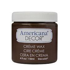 Americana Decor - Cire en crème - brun foncé -  Pot 118 ml