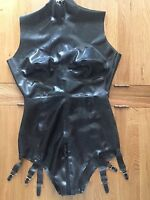 Latex rubber gummi catsuit Leotard Little Rubber Cherry Any size pick 18-24s