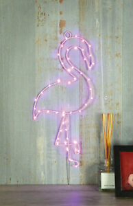 Hanging LED Silhouette Wall Light – Flamingo House Decoration