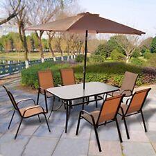 New Corfu 8 Piece Garden Furniture Set Create your own paradise in your garden.