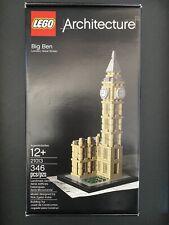 New Sealed Lego Architecture Big Ben (21013) 346 Pieces Set