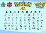 Pokemon Epee Bouclier ALL LEGENDAIRES GEN1-7 ! ( Shiny+Non Shiny, Description)