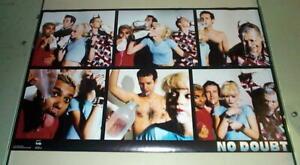 NO DOUBT Gwen Stefani Vintage Poster