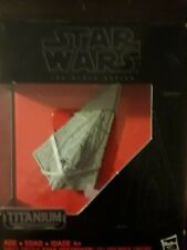 STAR WARS THE BLACK SERIES TITANIUM SERIES THE FIRST ORDER STAR DESTROYER #06