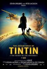 THE ADVENTURES OF TINTIN: THE SECRET OF THE UNICORN Movie Promo POSTER B